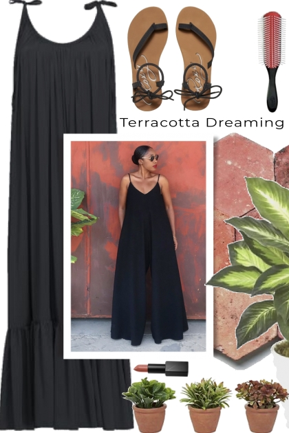 Terracotta and Black Dreaming