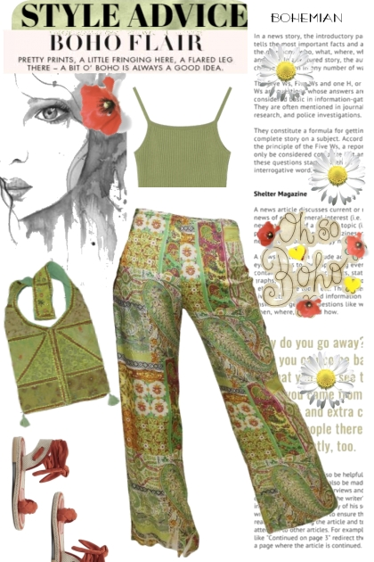 STYLE ADVICE Poppies and Daisies