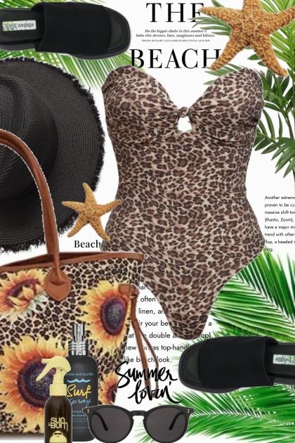 The Beach in Leopard