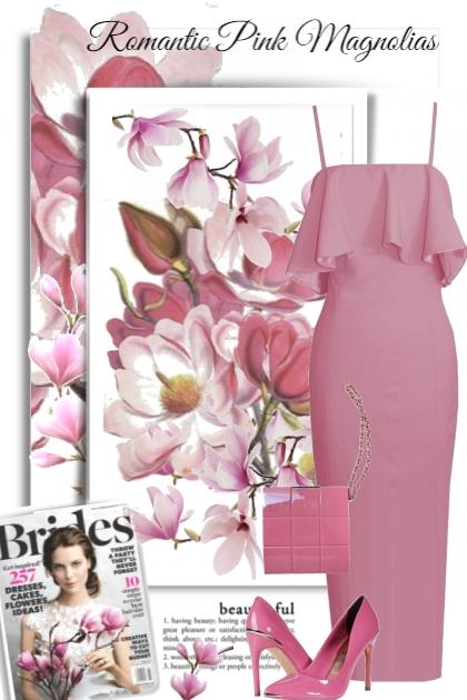 Romantic Pink Magnolias