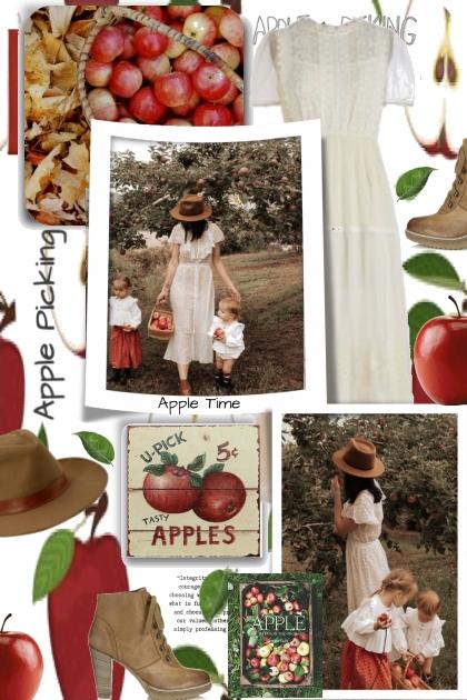 Apple Picking Time- Fashion set
