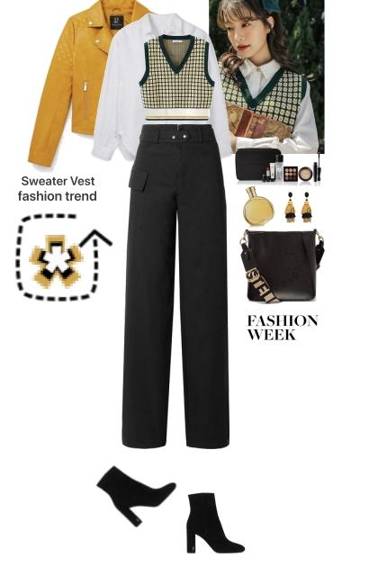 Fashion Week Sweater Vest Trend