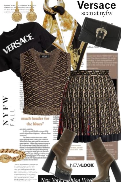 Versace Seen At NYFW