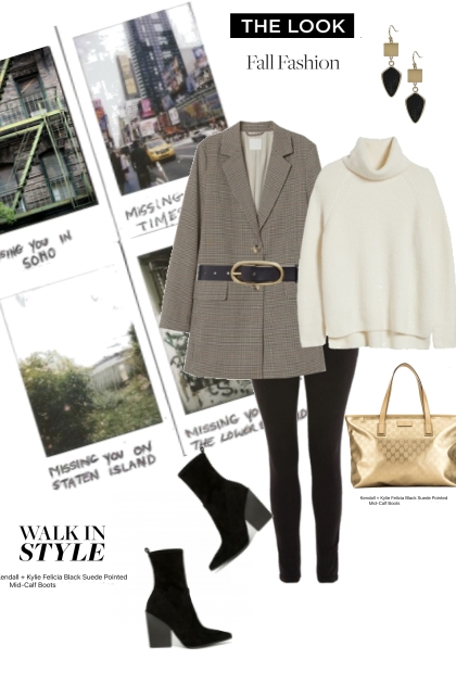 Get THE LOOK FALL FASHION BOOTS