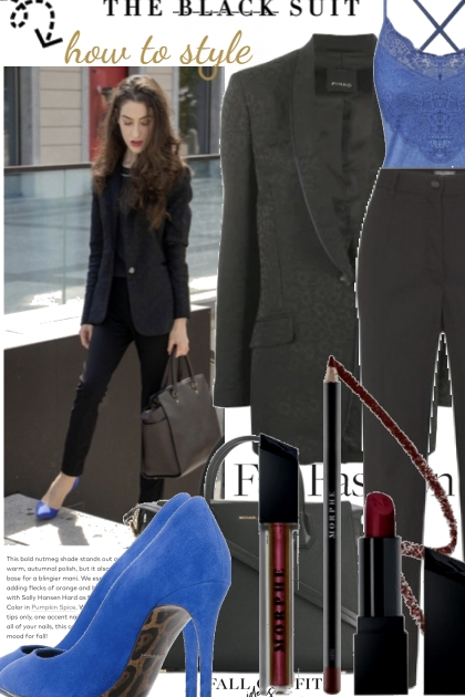 The Black Suit How To Style