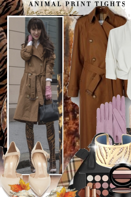 Animal Print Tights  How To Style