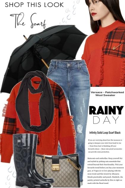 The Rainy Day Infiniti Scarf