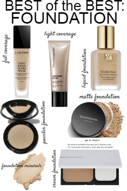 BEST OF THE BEST FOUNDATION- Fashion set