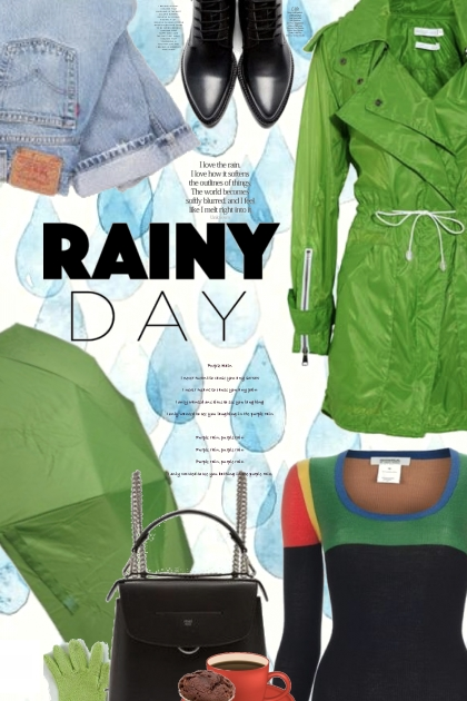 Rainy Day Trends- Fashion set