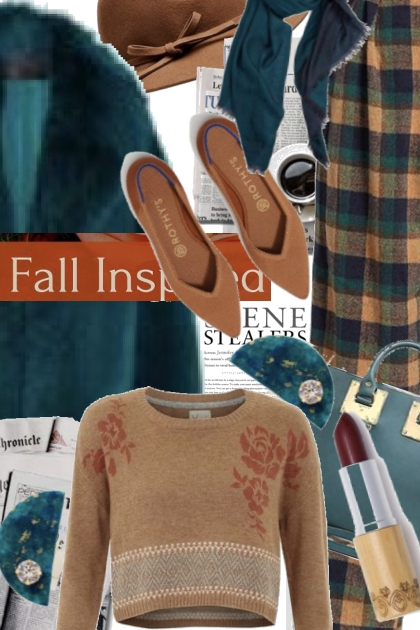Fall Inspired Teal and Camel