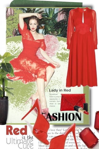 Red is the Ultimate Fashion Cure