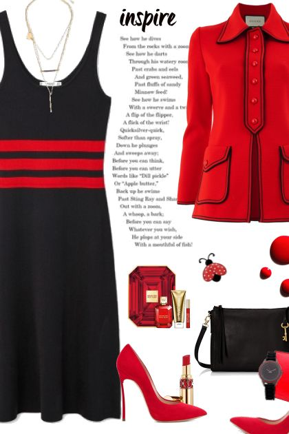 Black and red- Fashion set