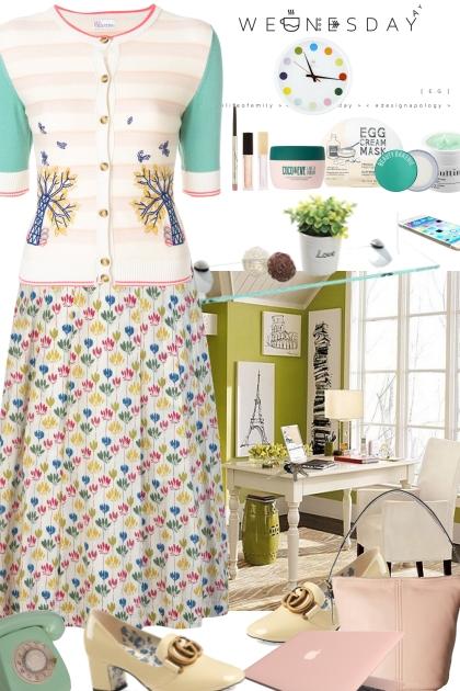 Office - Wednesday- Fashion set