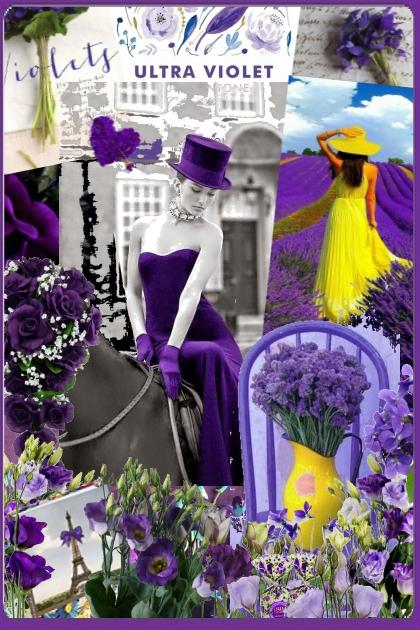 Ultra violet- Fashion set