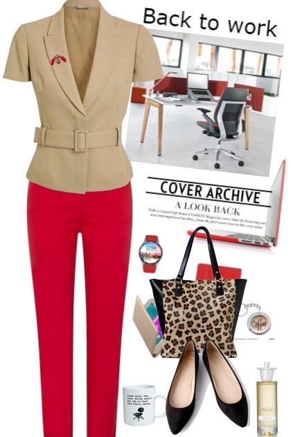 Back to work- Fashion set