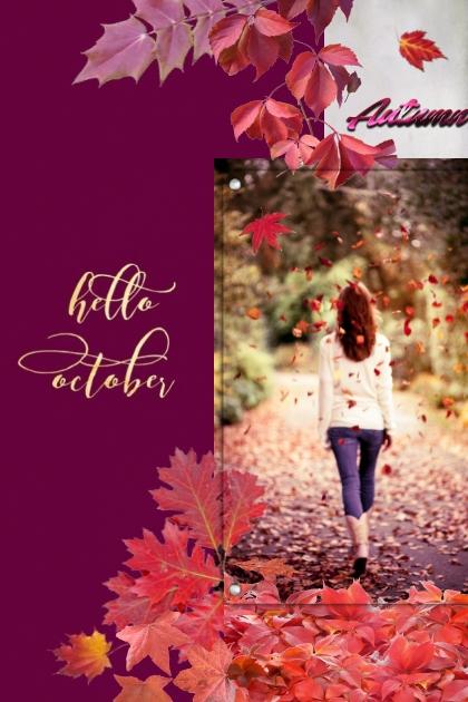 Hello October- Fashion set