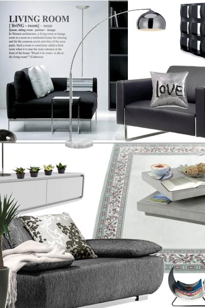 Black, white and gray