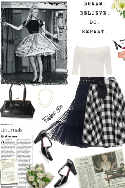 Vintage-inspired style
