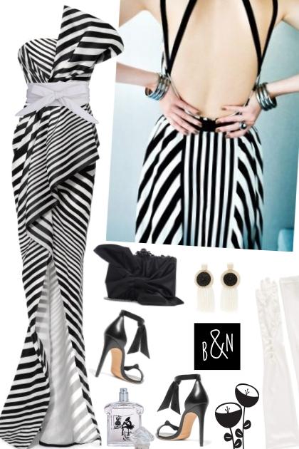 Blanche et Noir- Combinazione di moda