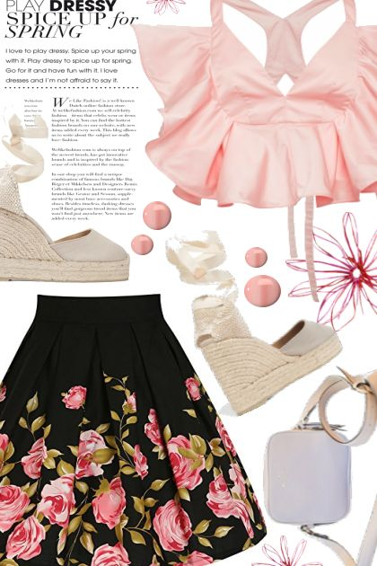 Spring has Sprung- Fashion set