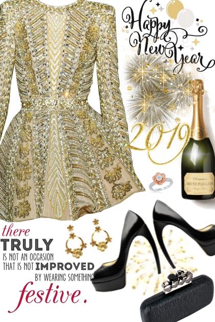 New Years Eve 2- Combinazione di moda