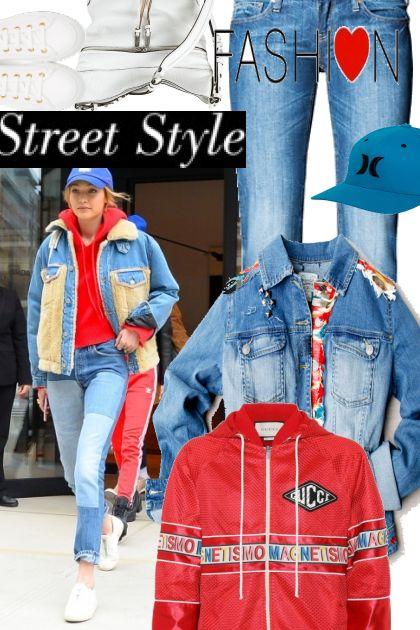 model style Gigi hadid- Fashion set