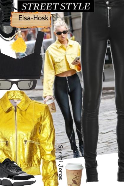street style - Elsa Hosk