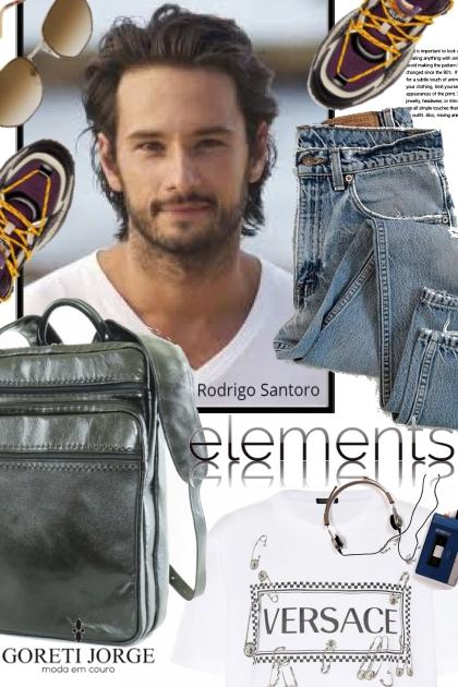 Menswear - Rodrigo Santoro- Fashion set