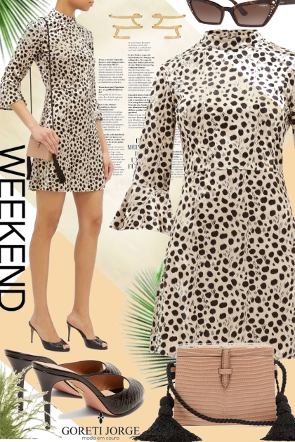 print dress -Weekend