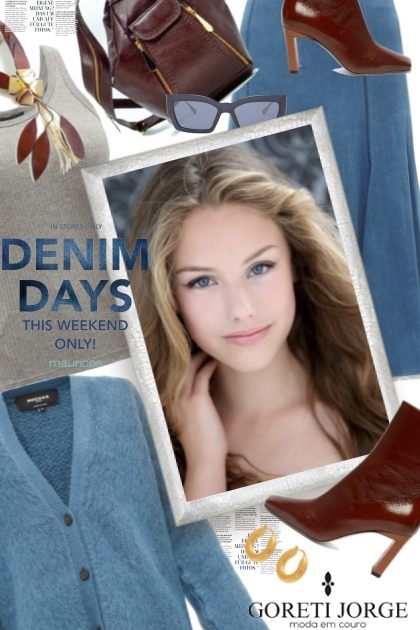 Days of Denim- Modna kombinacija