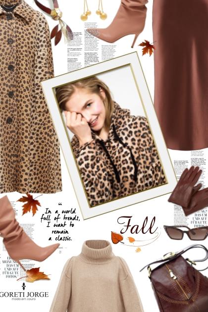 Leopard - Autumn style