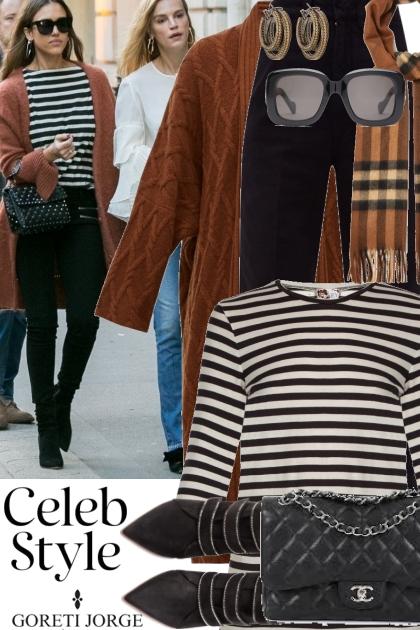 Celeb style - Jessica Alba
