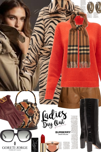 Fall animal print style