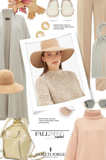 Fall Trend  Hat Clean look- Fashion set