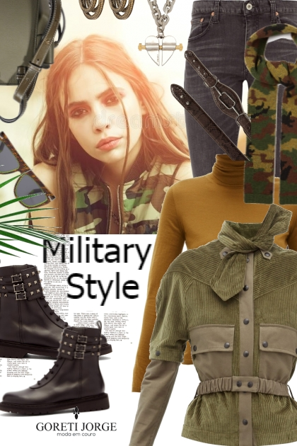 Military Fashion Style