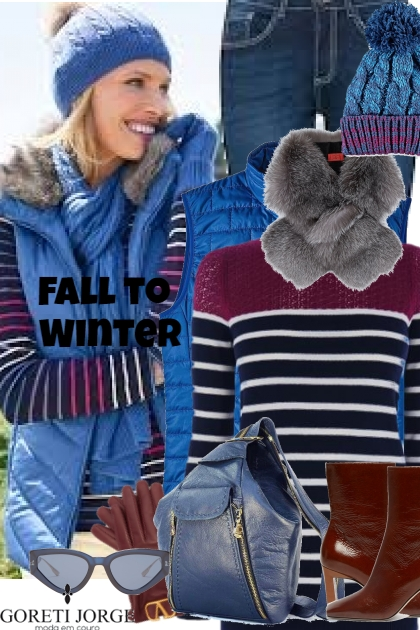 Fall to winter - Puf Vest