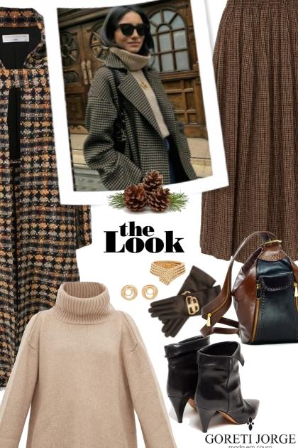 Skirts & Boots- Winter days- Fashion set