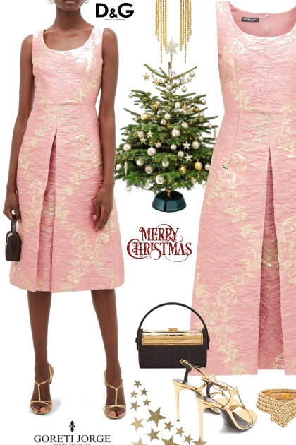 Merry Christmas -D & G - Dress- Kreacja