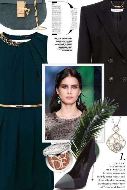 Elegant and Magestic- Combinazione di moda