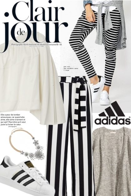 Amazingly Striped- Fashion set