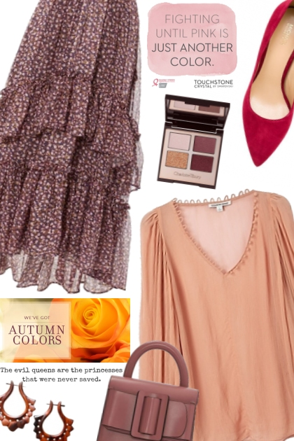Warmth in Colors- Fashion set