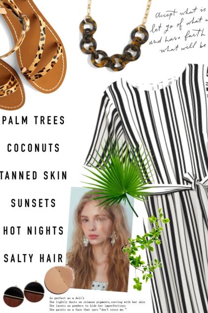 Pretty Island Girl- Fashion set