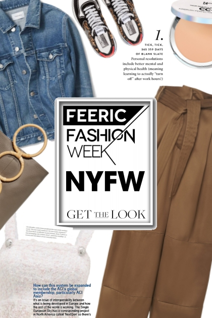 NYFW- Fashion set