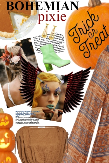 Bohemian Pixie: Halloween Inspiration