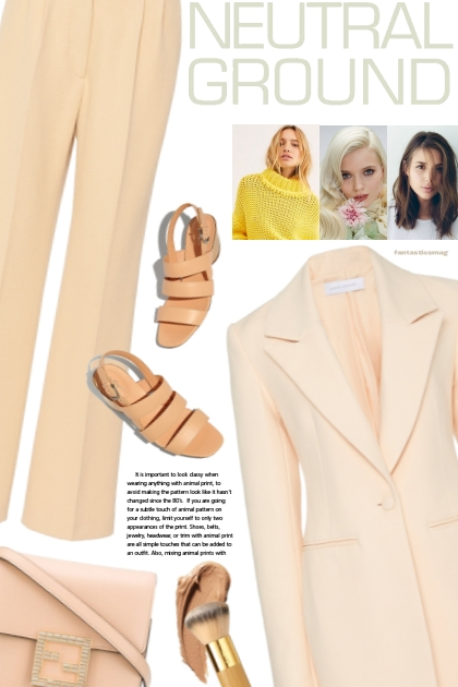 Neutral Looks of Spring