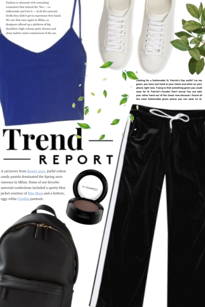 Out for a Run- Fashion set
