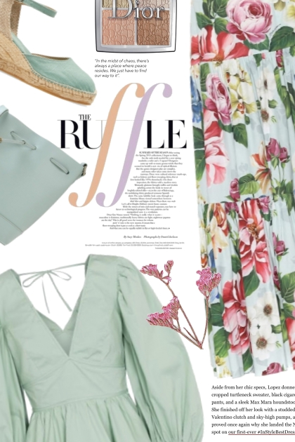 Feeling the Comfort of Spring Weather- Fashion set