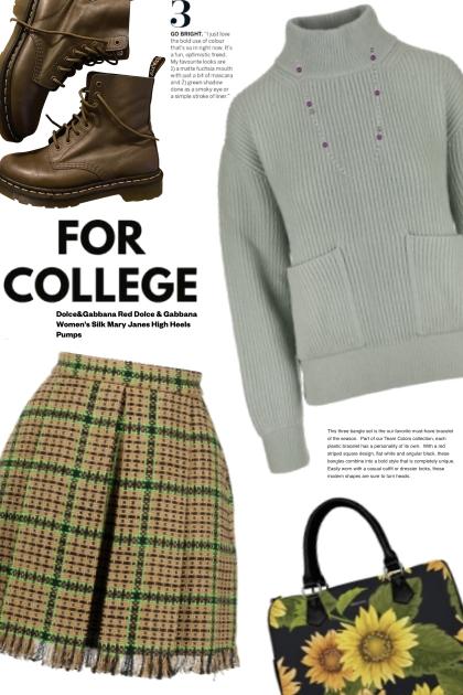 College years- Fashion set