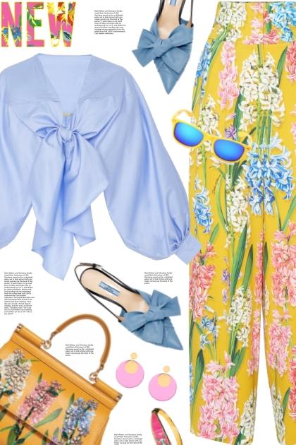 Dolce & Gabbana floral pants