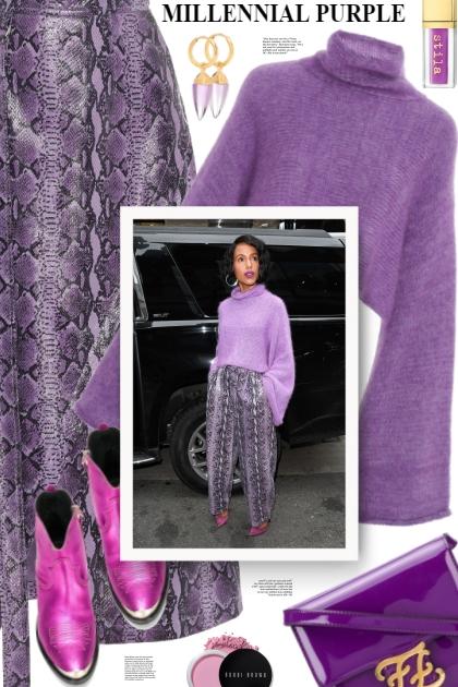 Millennial purple ❤️